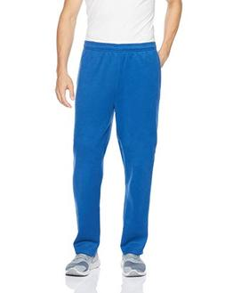 Amazon Essentials Men's Fleece Sweatpants, Blue, Large