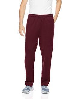 Amazon Essentials Men's Fleece Sweatpants, Burgundy, Small