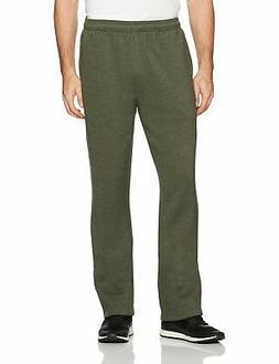 men s fleece sweatpants olive heather large
