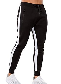 Ouber Men's Gym Jogger Pants Slim Fit Workout Running Sweatp
