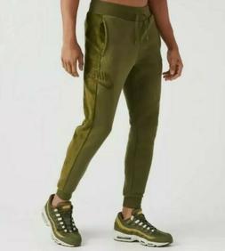NIKE MEN'S HAIRY SHERPA WINTER JOGGER PANTS SIZE SMALL GREEN