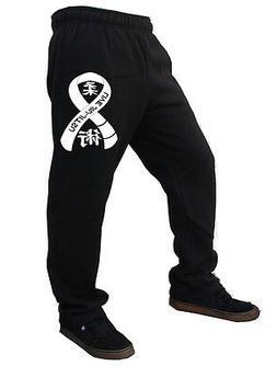 Men's Jiu Jitsu Ribbon Sweatpants Training Beast MMA BJJ Gym