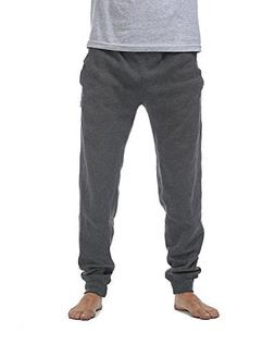 Pro Club Men's Jogger Fleece Long Pants, 2X-Large, Charcoal
