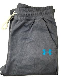 Men's Under Armour Joggers Purple Grey Sweats Soft Sweatpant