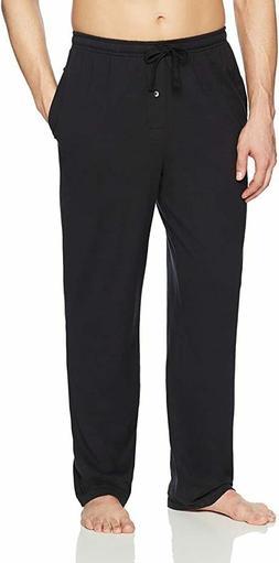 Amazon Essentials Men's Knit Pajama Pant Size L Black
