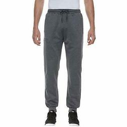 Men's Melange Pants Running Fitness Jogger Sweatpants Dark G