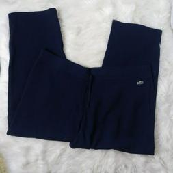 Lacoste  Men's Navy Blue Athletic Sport Cotton Sweatpants Bi