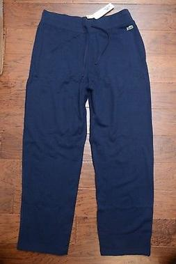 Lacoste Men's Navy Sport Fleece Cotton Sweatpants Big & Tall