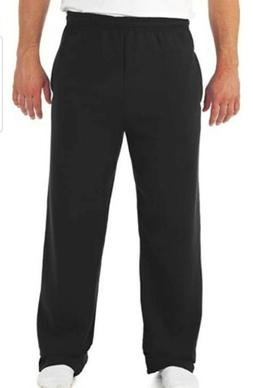 Jerzees Men's NuBlend Open-Bottom Gym Sweatpants w/ Pockets