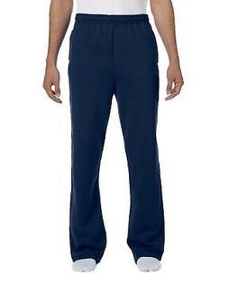 Jerzees - NuBlend Open Bottom Sweatpants with Pockets - 974M