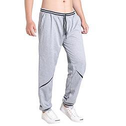 men s open bottom light weight pants