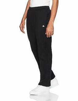 Starter Men's Open-Bottom Sweatpants with Pockets, , Black,