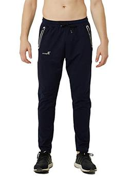 men s performance tapered casual track pants