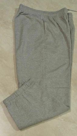 Men's Plus Size Fleece Sports/Lounge Pants; 2XL-3XL