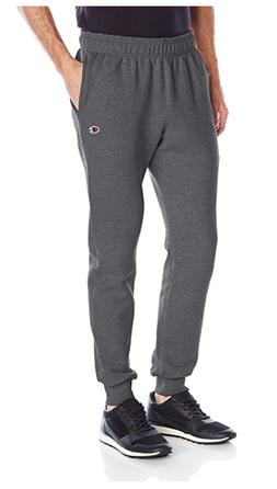 Champion Men's Powerblend Retro Fleece Jogger Pant, Granite