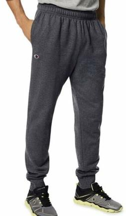 Champion Men's Powerblend Retro Fleece Jogger Pants - Grey