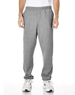 Champion Men's Reverse Weave Fleece Pant_Silver Gray_M