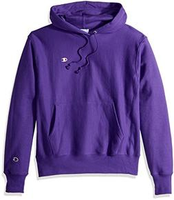 Champion LIFE Men's Reverse Weave Pullover Hoodie, Purple/Le