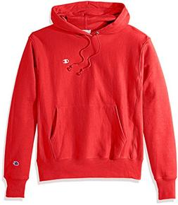 Champion LIFE Men's Reverse Weave Pullover Hoodie, Team Red
