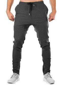 AKARMY Men's Running Gym Joggers Pants Casual Sporting Worko