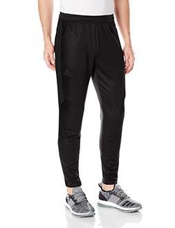 adidas Men's Soccer Tiro 17 Pants, Small, Black/Dark Grey