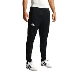 adidas Men's Soccer Tiro 17 Training Pants, Black/Black, Sma