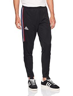 adidas Men's Soccer Tiro 17 Training Pants, Black/Power Red/