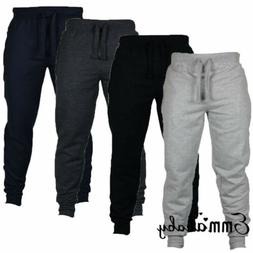 Men's Sport Pants Long Trousers Tracksuit Fitness Workout Jo