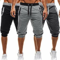 Men's Summer Joggers Training Casual Sport Fitness Gym Short