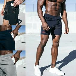 Men's Summer Sport Shorts Joggers Training Casual Fitness Gy