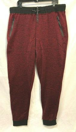 Brooklyn Laundry Men's Sweat Pants Big and Tall 5X Burgundy