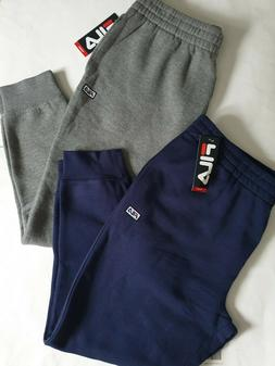 FILA Men`s Sweatpants Joggers Big Logo 1 Joggers