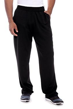 men s sweatpants open bottom loungewear pants