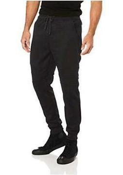 Southpole Men's Tech Fleece Basic Jogger Pants, Black, Mediu