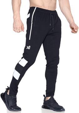 BROKIG Men's Train-Lite Slim Fit Joggers Sweatpants Light We