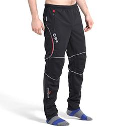 4ucycling men's wind stopper active pants black 3XL-PROMISE