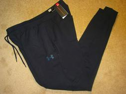 Men's XLT TALL Under Armour ColdGear Fitted Black Sweatpants