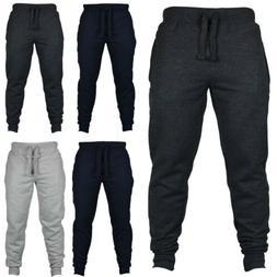 Men Sport Long Pants Trousers Tracksuit Fitness Gym Workout