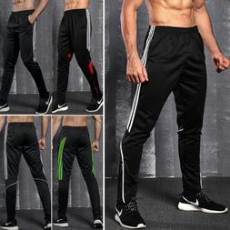 men sport pants long trousers tracksuit fitness