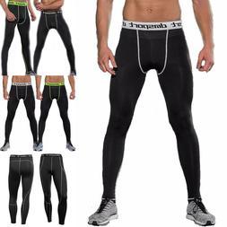 Men Sports Pants Long Trousers Tracksuit Fitness Workout Jog