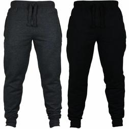 Men Sweat Pant Gym Workout Exercise Fitness Jogging Trouser