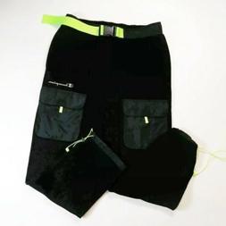Men champion sweatpants solid size LARGE 100%AUTHENTIC black