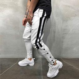 Men Track Pants 2019 NEW Fashion Hip Hop Fitness Streetwear