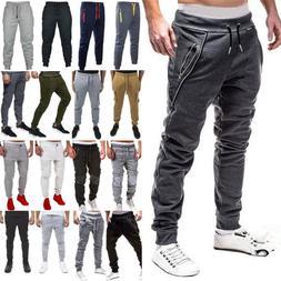 Men Trousers Casual Sweatpants Harem Track Pants Joggers Spo