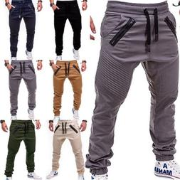 men trousers casual sweatpants harem track pants