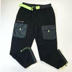 CHAMPION MENS 100% AUTHENTIC Black sweat caro pants SAMPLE L