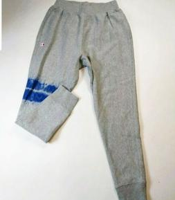 Mens 100% authentic champion long sweat pants logo size larg