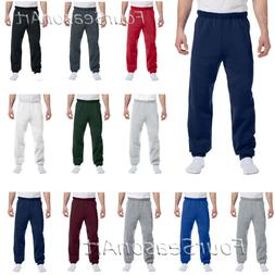 JERZEES Mens 50/50 NuBlend Fleece Sweatpants S M L XL 2XL 3X