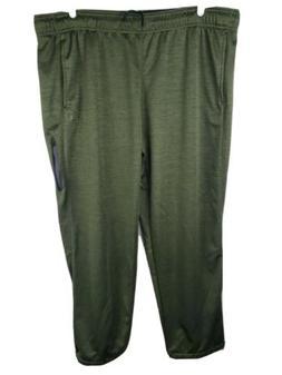 And1 Mens Athletic Big & Tall Drawstring Sweatpants Olive Gr