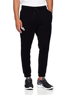 NIKE Mens AV15 Fleece Jogger Sweatpants Black/White 861746-0